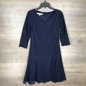 $3/25 🛍️  Evan Picone Women's V-Neck Lace Dress